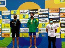Aluno da Ufam ganha medalha de bronze na prova de 200 metros borboleta nos JUB's 2021